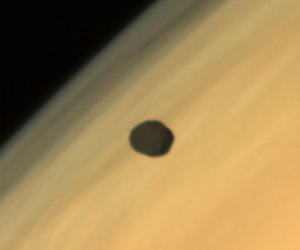 Mars Orbiter spies Phobos in front of Red Planet