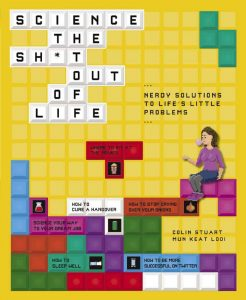 Front cover of Science the Sh*t out of Life - one of Colin Stuart's books