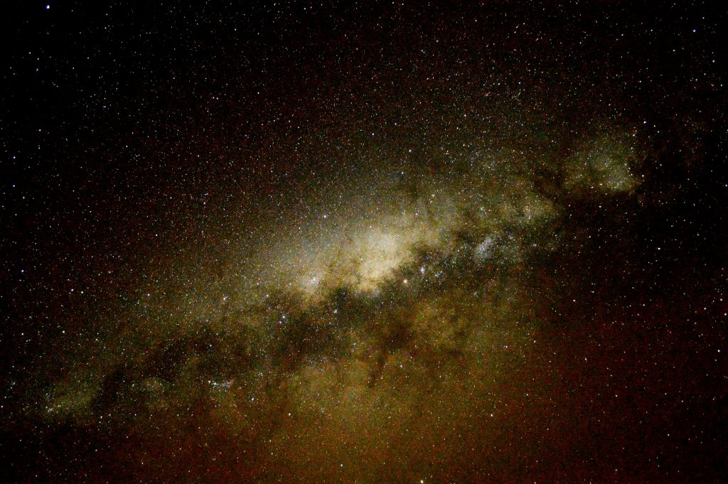 The Milky Way photographed from Chile by stargazing expert Colin Stuart