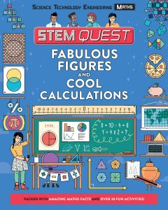 The front cover of Fabulous Figures and Cool Calculations by Colin Stuart